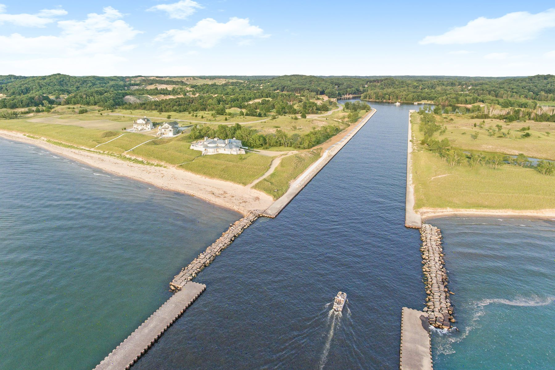 Land for Active at Captivating Saugatuck Estate With Lake Michigan Access Lot 15 Saugatuck Beach Road Saugatuck, Michigan 49453 United States
