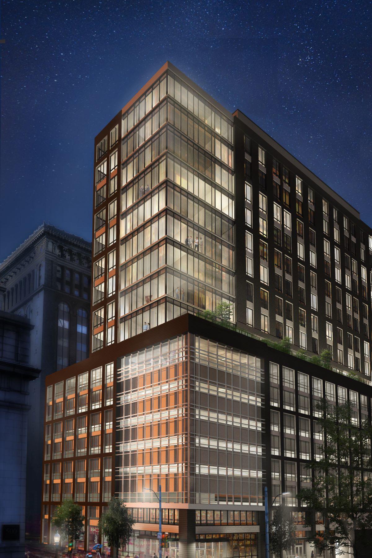 Condominiums للـ Sale في The Vega Residence at Lumiére - No. 809 350 Oliver Avenue #809, Pittsburgh, Pennsylvania 15222 United States