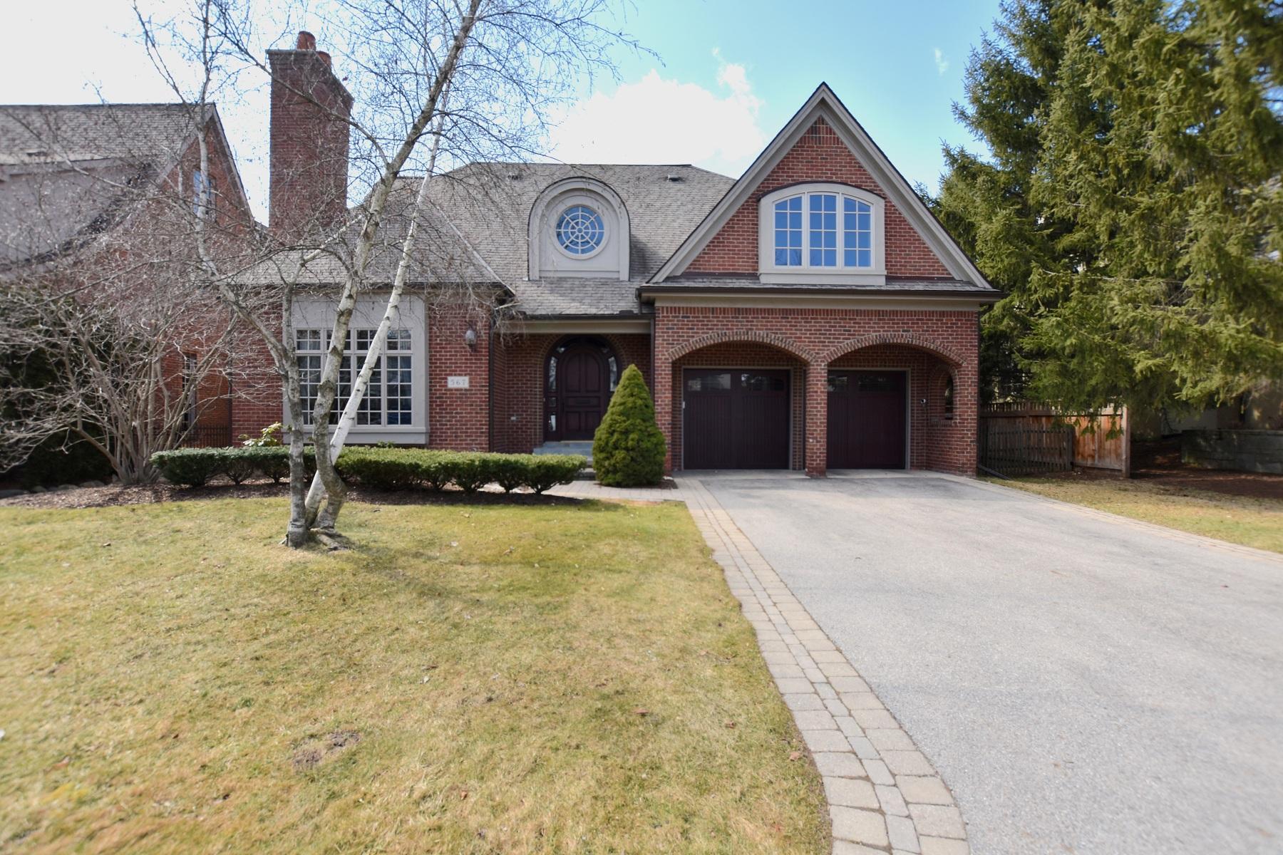 Single Family Homes for Sale at Birmingham 567 Baldwin Court Birmingham, Michigan 48009 United States