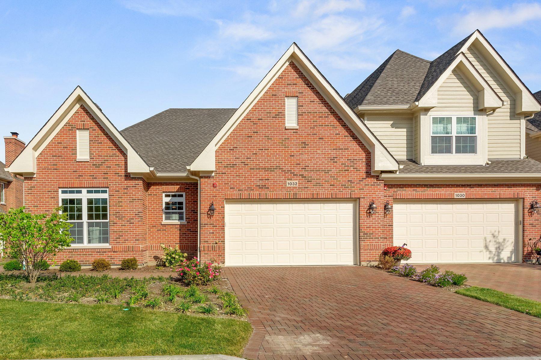 Maison accolée pour l Vente à 1032 HICKORY DRIVE Western Springs, Illinois, 60558 États-Unis