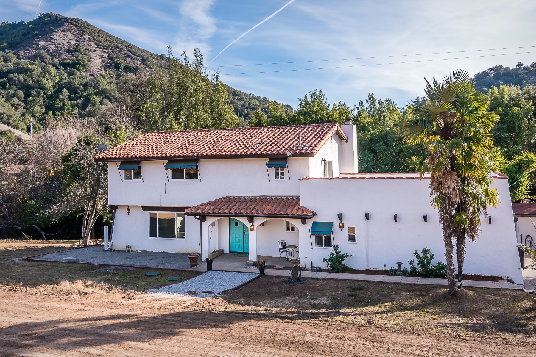 Single Family Home for Sale at Spanish Hacienda Home on 1.64± Acres 14595 Morro Road Atascadero, California 93422 United States
