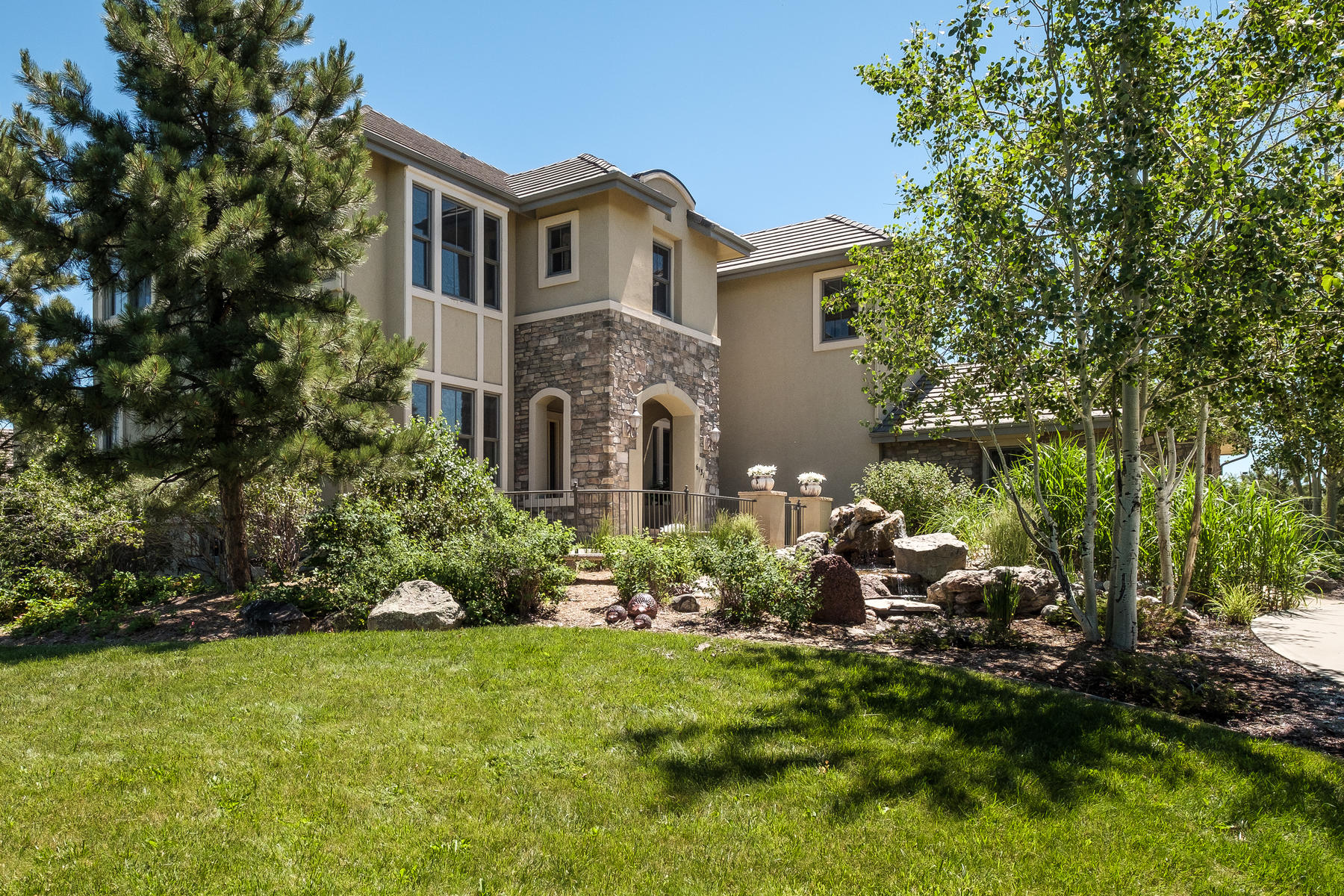 Single Family Home for Active at 6131 Missouri Peak Pl Castle Rock, Colorado 80108 United States