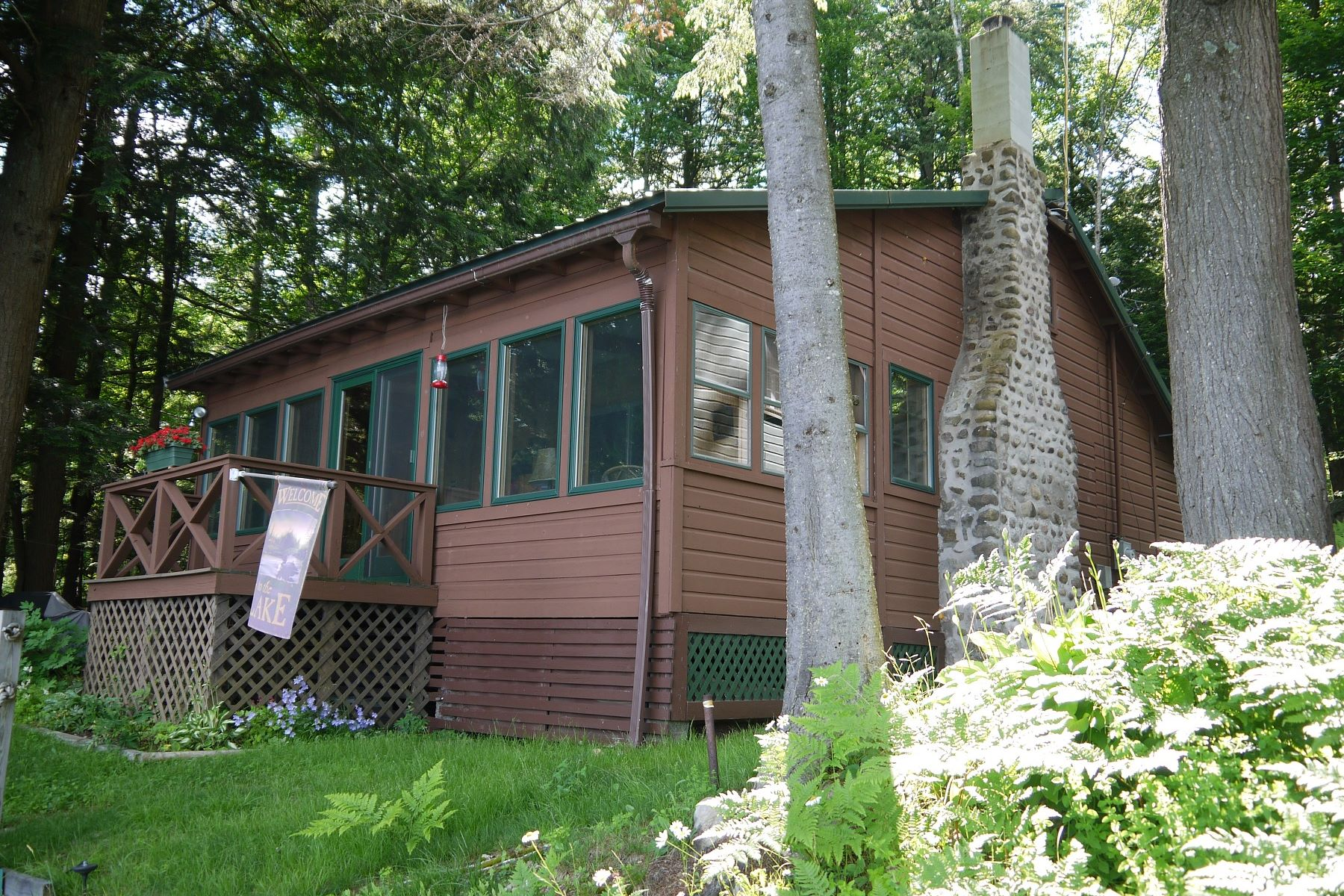 Single Family Home for Sale at Rustic seasonal camp with 60 feet of waterfront on serene Otter Lake 4251 Lakeview Rd Forestport, New York 13494 United States