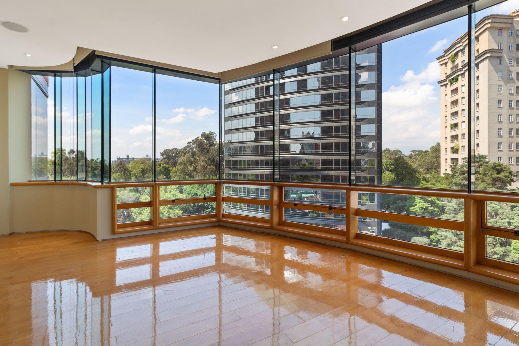 Apartments のために 賃貸 アット DepartamentoTorresDelParque Ruben Dario 115 ResidencialdelBosque Polanco, メキシコの各都市 11560 メキシコ