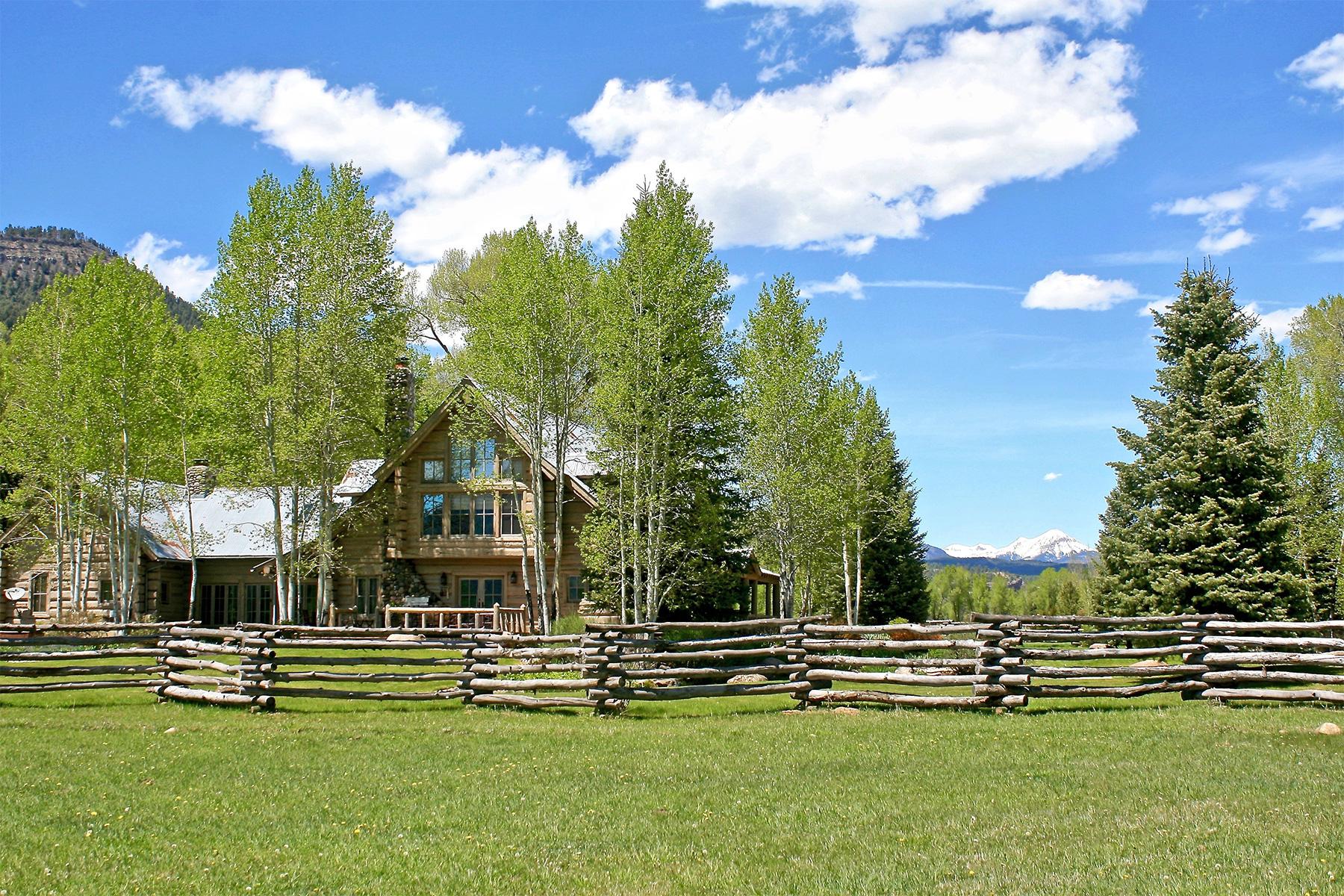 Ferme / Ranch / Plantation pour l Vente à Vega Verde Ranch 10495 CR 250 Durango, Colorado, 81301 États-Unis