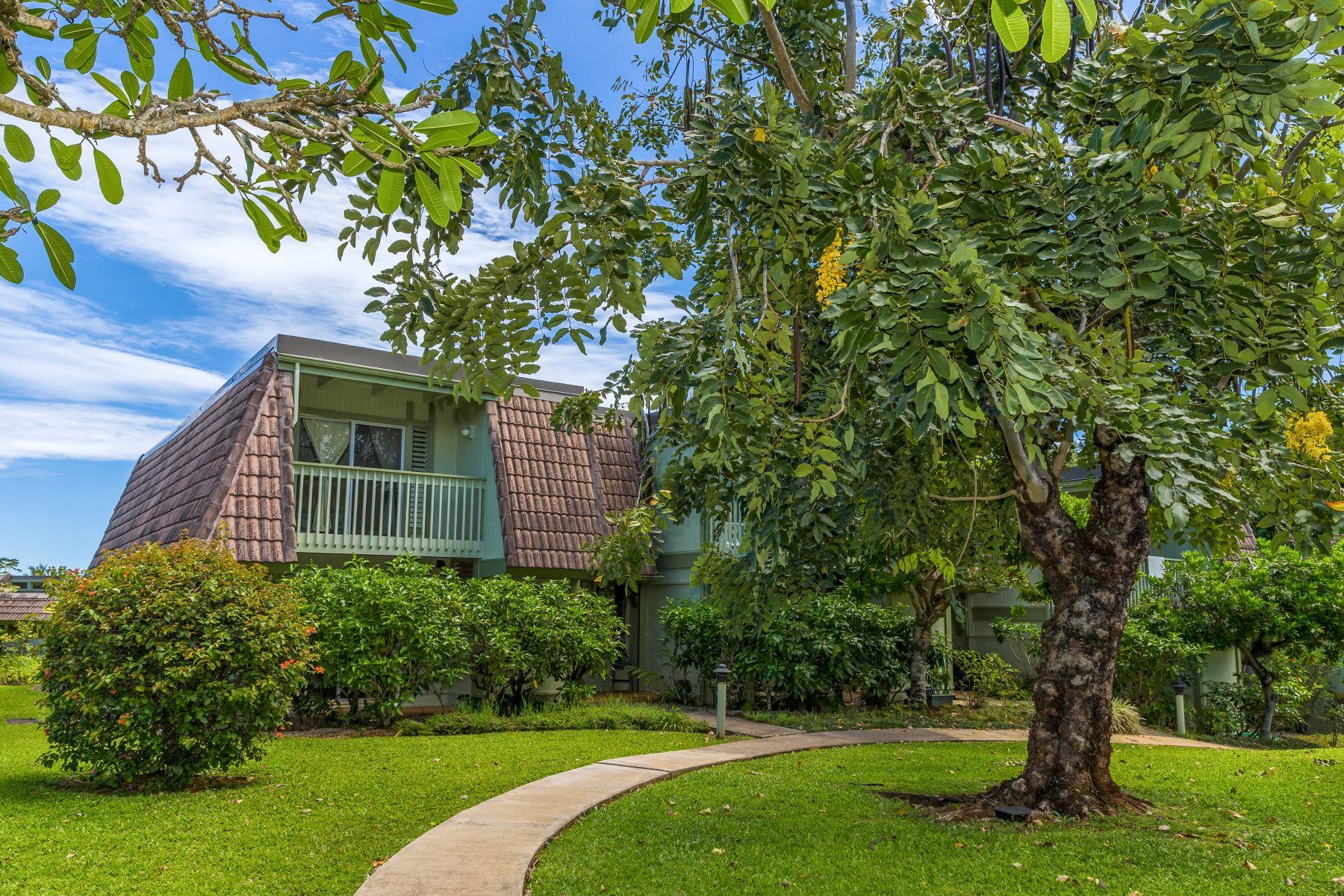 Maison accolée pour l Vente à Puamana 3800 Wyllie Road #3A Princeville, Hawaii, 96722 États-Unis
