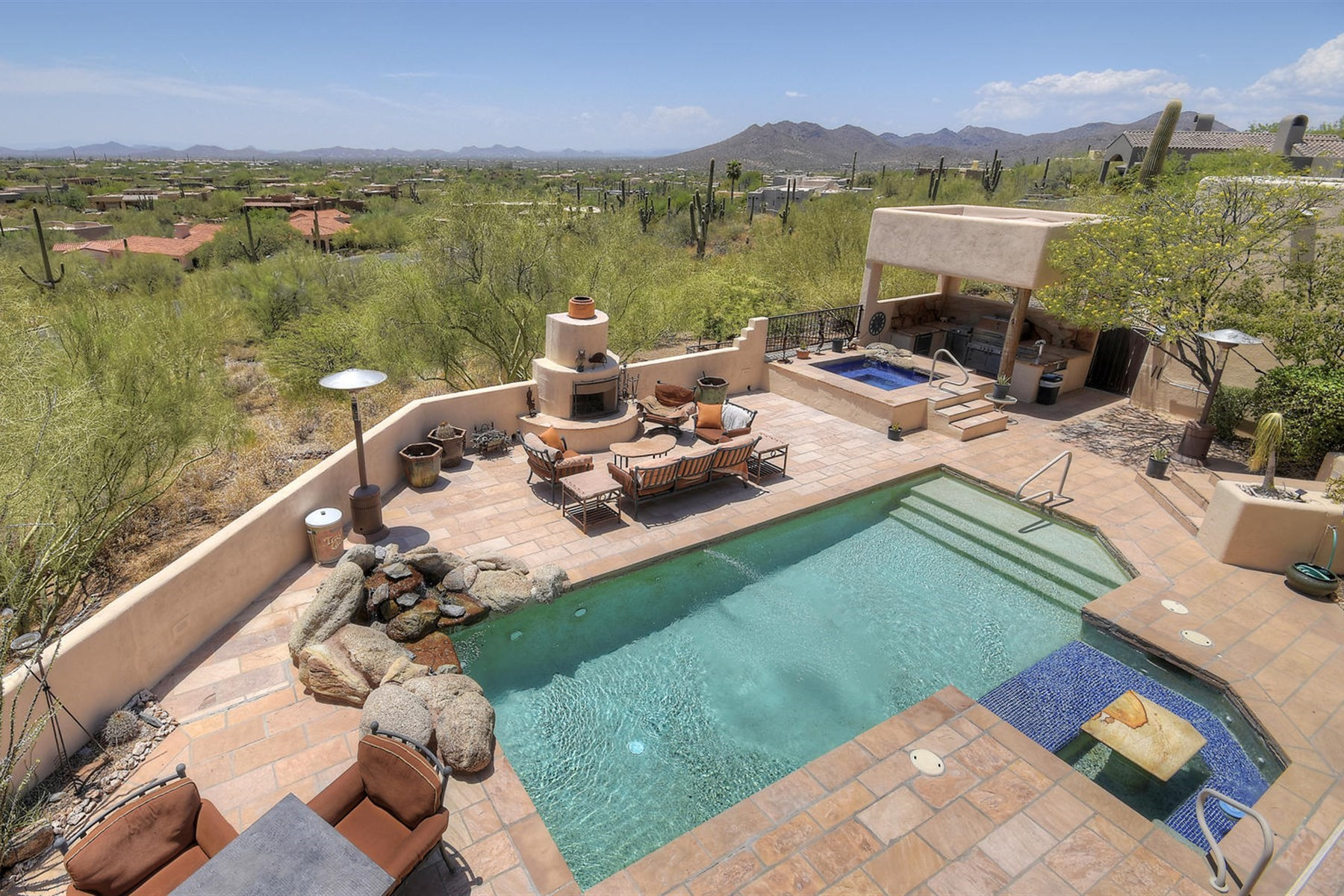 Single Family Home for Sale at Beautiful View Lot in Carefree Foothills 35037 N El Sendro Rd Carefree, Arizona, 85377 United States