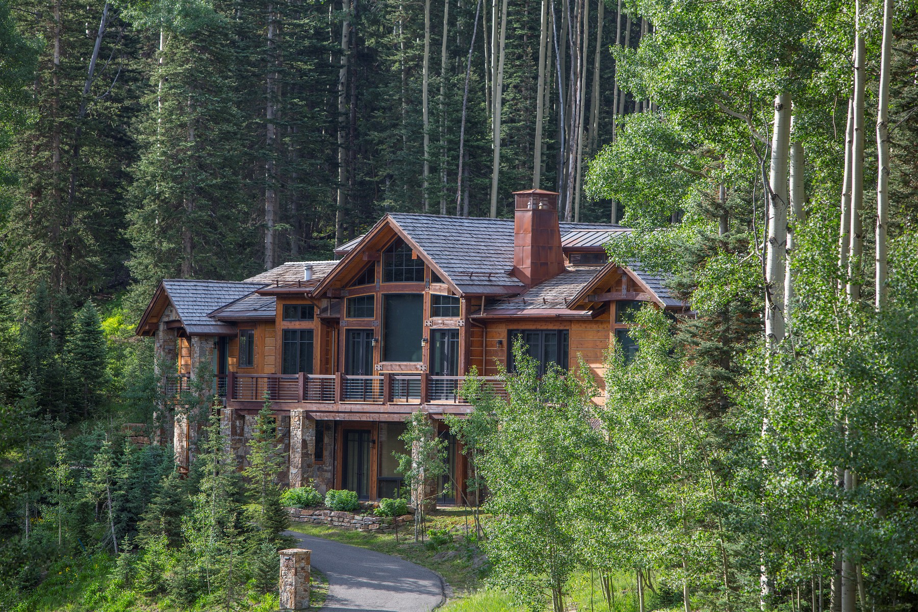 Single Family Home for Active at 159 Benchmark 159 Benchmark Telluride, Colorado 81435 United States