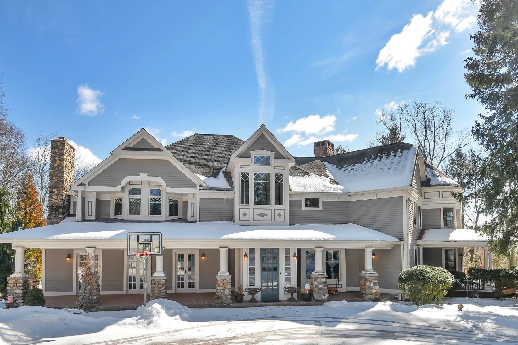 Single Family Home for Sale at Old World Charm 424 West Saddle River Road Upper Saddle River, 07458 United States