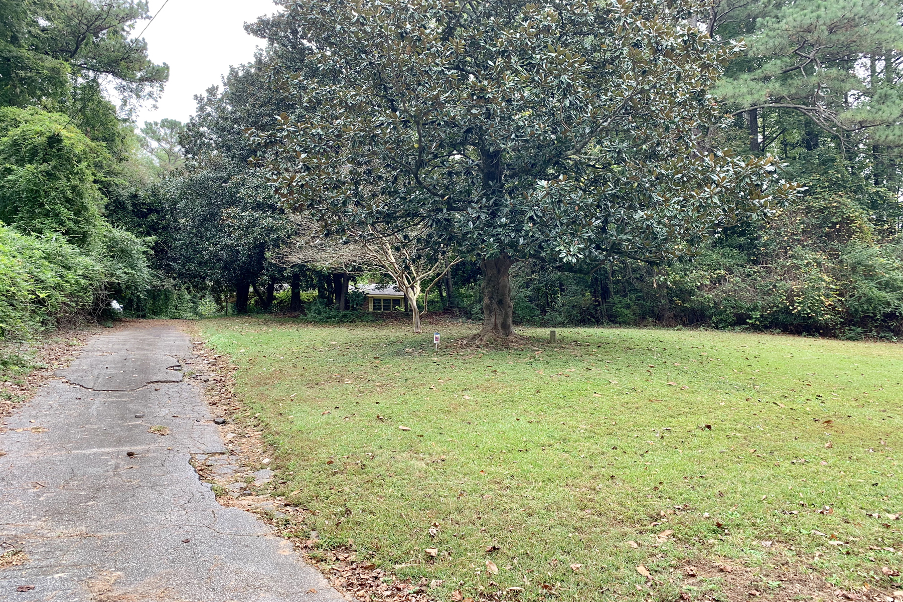 Single Family Home for Sale at Large 2.2+/- Acre Lot In The Heart Of Sandy Springs 5757 Long Island Drive NW Atlanta, Georgia 30327 United States