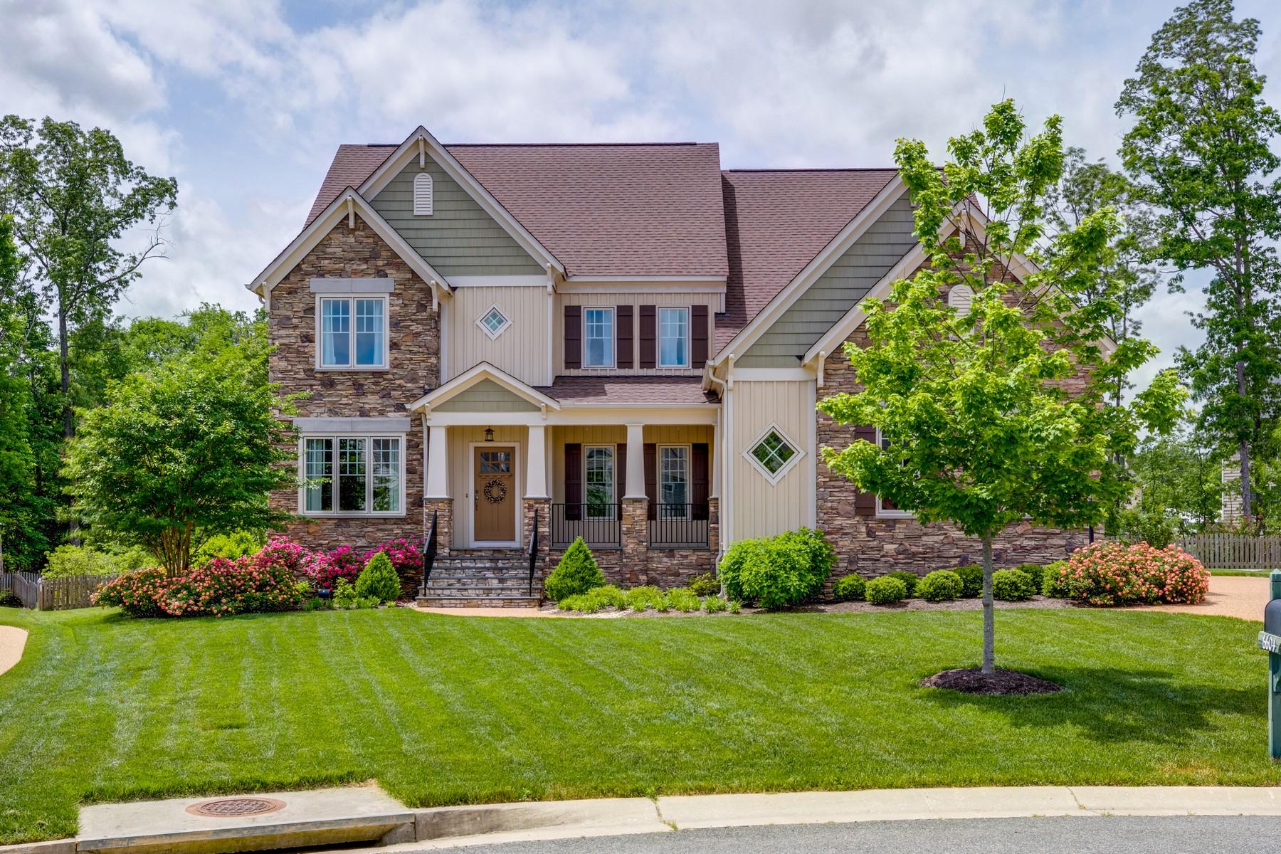 Single Family Homes для того Продажа на 6604 Gadsby Park Terrace Glen Allen, Виргиния 23059 Соединенные Штаты