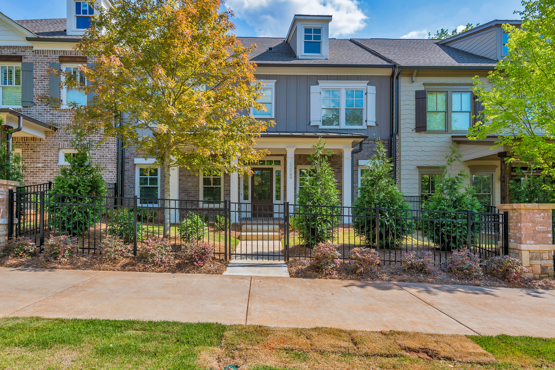 Townhouse for Sale at New Community In The Heart Of Crabapple 12589 Crabapple Rd Milton, Georgia 30004 United States