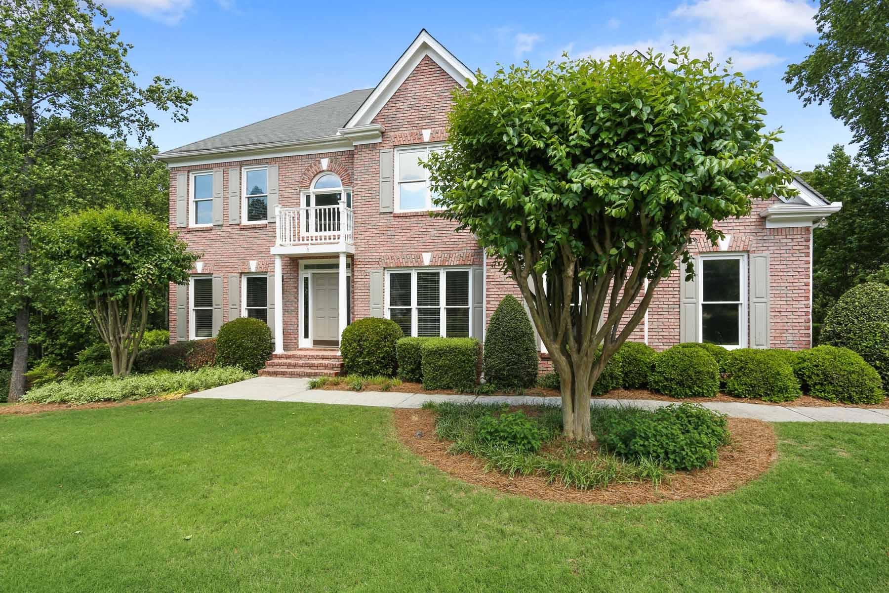 Einfamilienhaus für Verkauf beim Beautiful Four-Side Brick Home 2922 Mill Park Court Dacula, Georgia, 30019 Vereinigte Staaten
