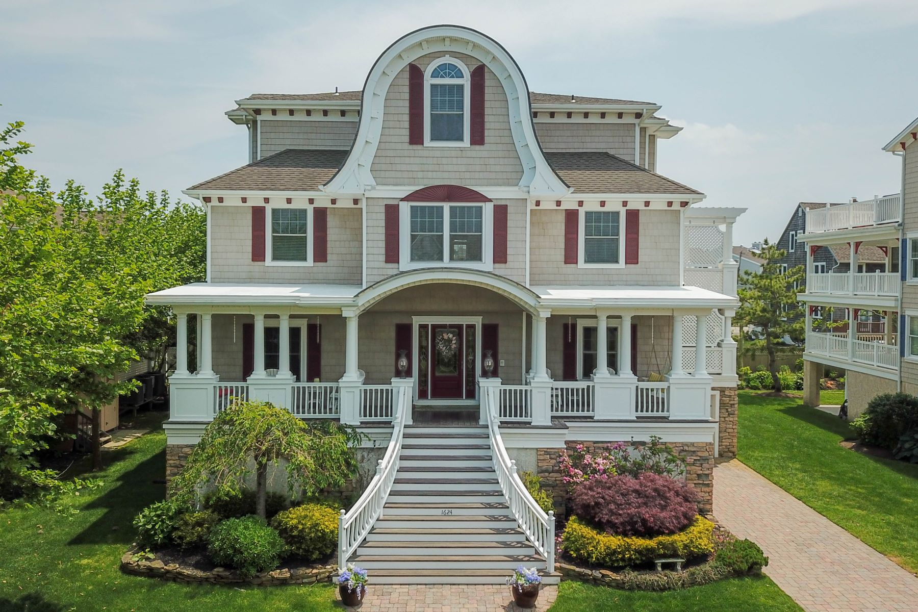 Single Family Homes for Sale at Luxurious Cape May Masterpiece 1624 New York Avenue Cape May, New Jersey 08204 United States