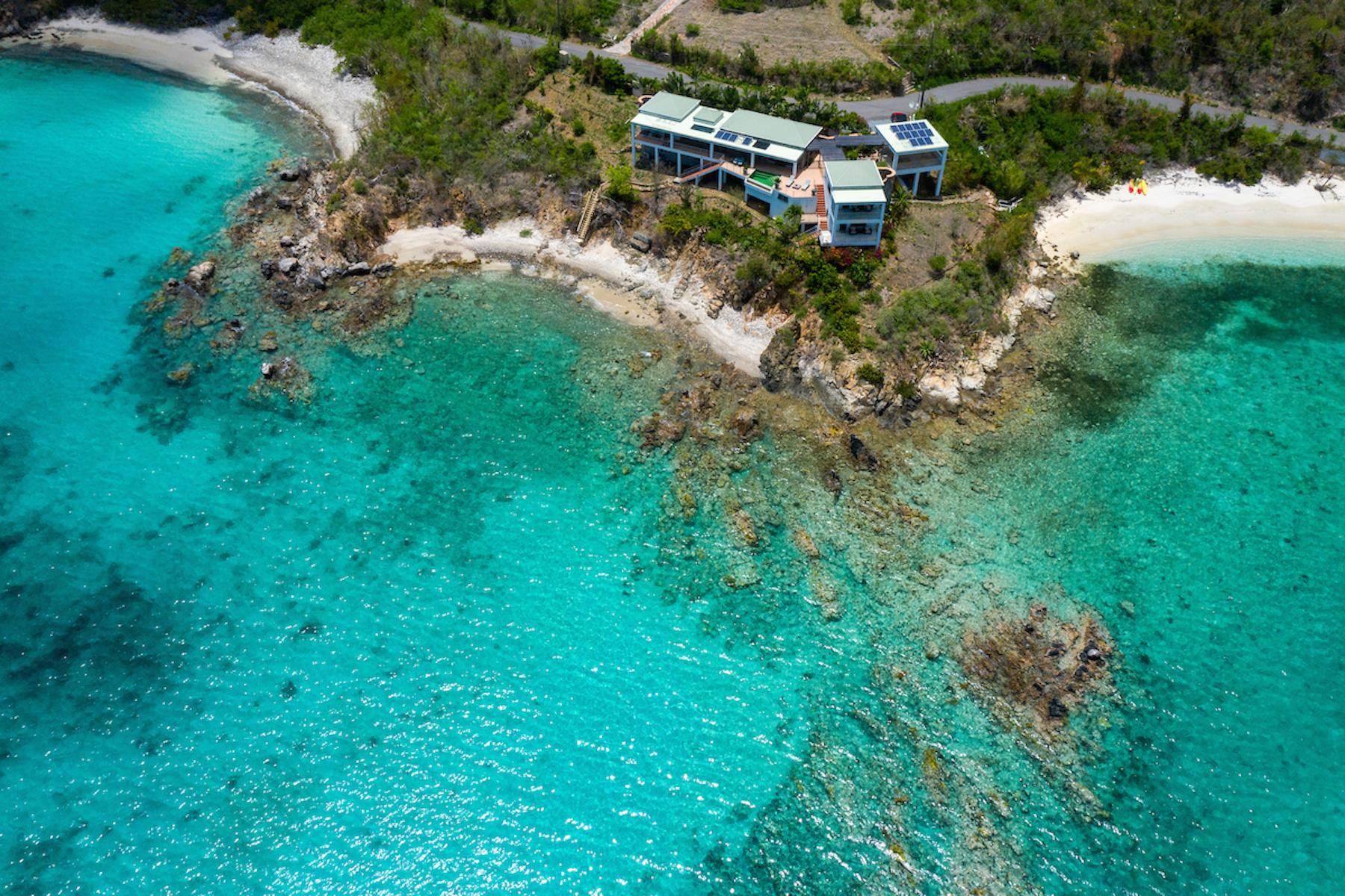 Single Family Homes por un Venta en East of Eden 5GA-1 Consolidated Est. Haulover St John, Virgin Islands 00830 Islas Virgenes Ee.Uu.