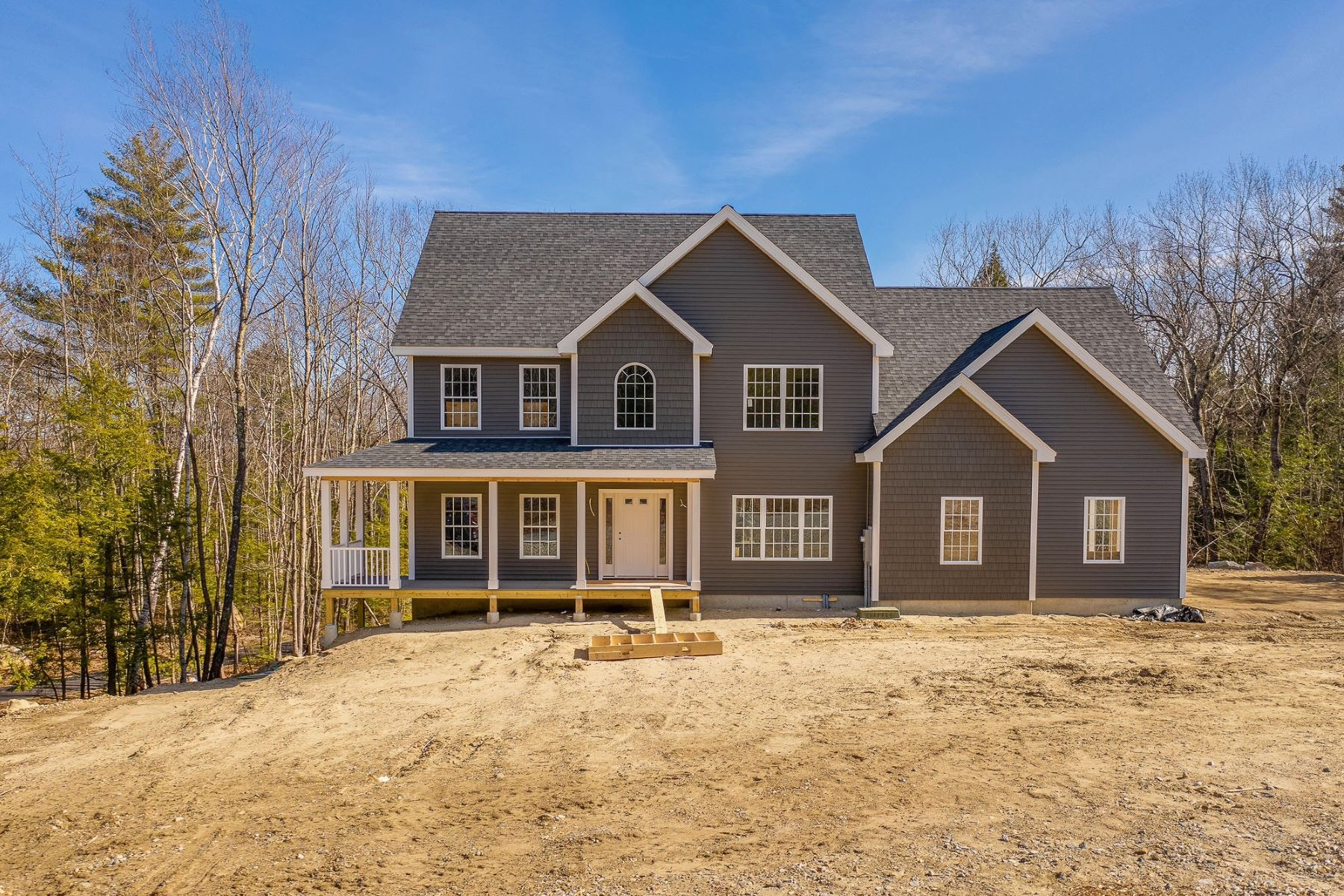 Single Family Homes for Sale at New Construction Craftsman Home in New Boston 109 Indian Falls Road 88-4 New Boston, New Hampshire 03070 United States