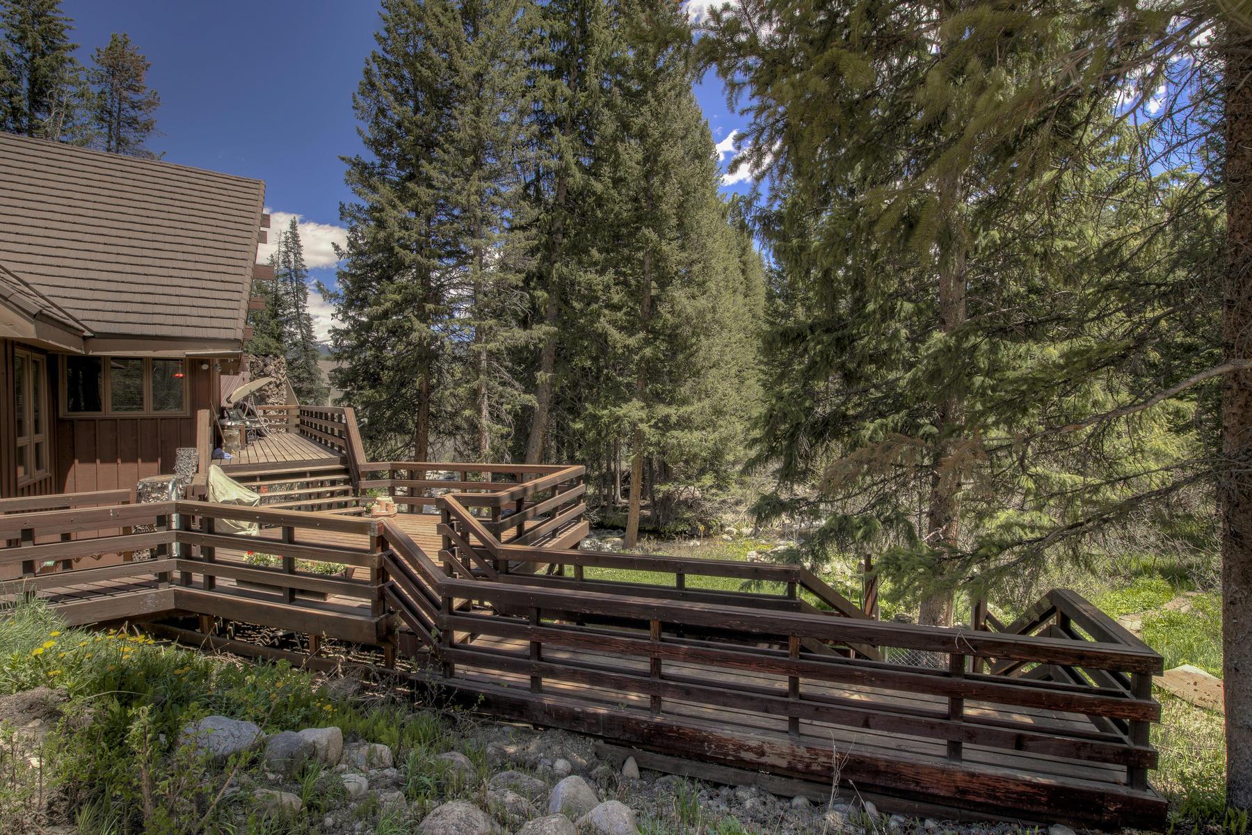 Single Family Homes para Venda às In Town on Vasquez Creek 554 Vasquez Road, Winter Park, Colorado 80482 Estados Unidos