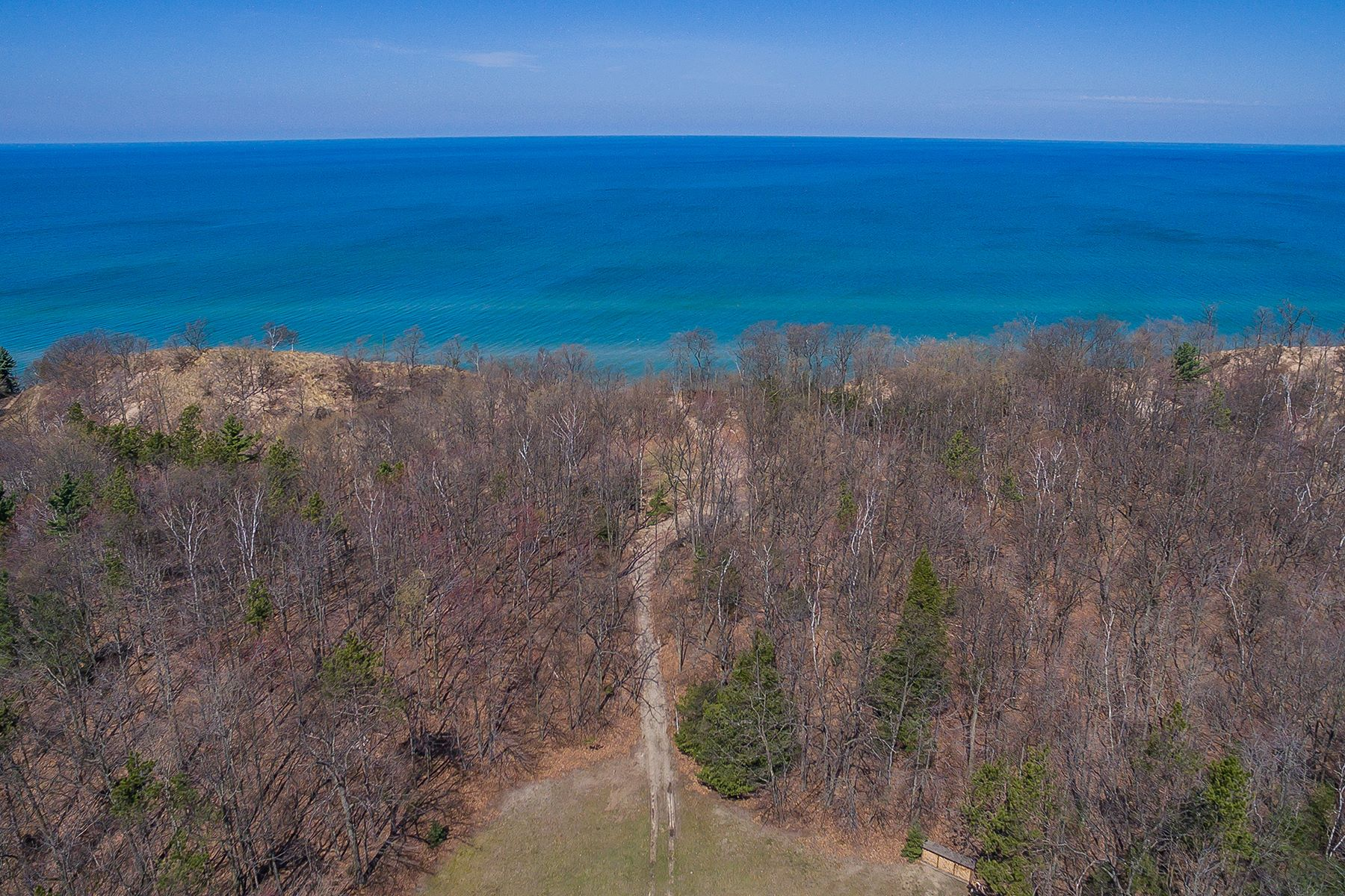 Land for Active at Serene Lakeshore Property 4500 Lakeshore Road Lot 7 Manistee, Michigan 49660 United States
