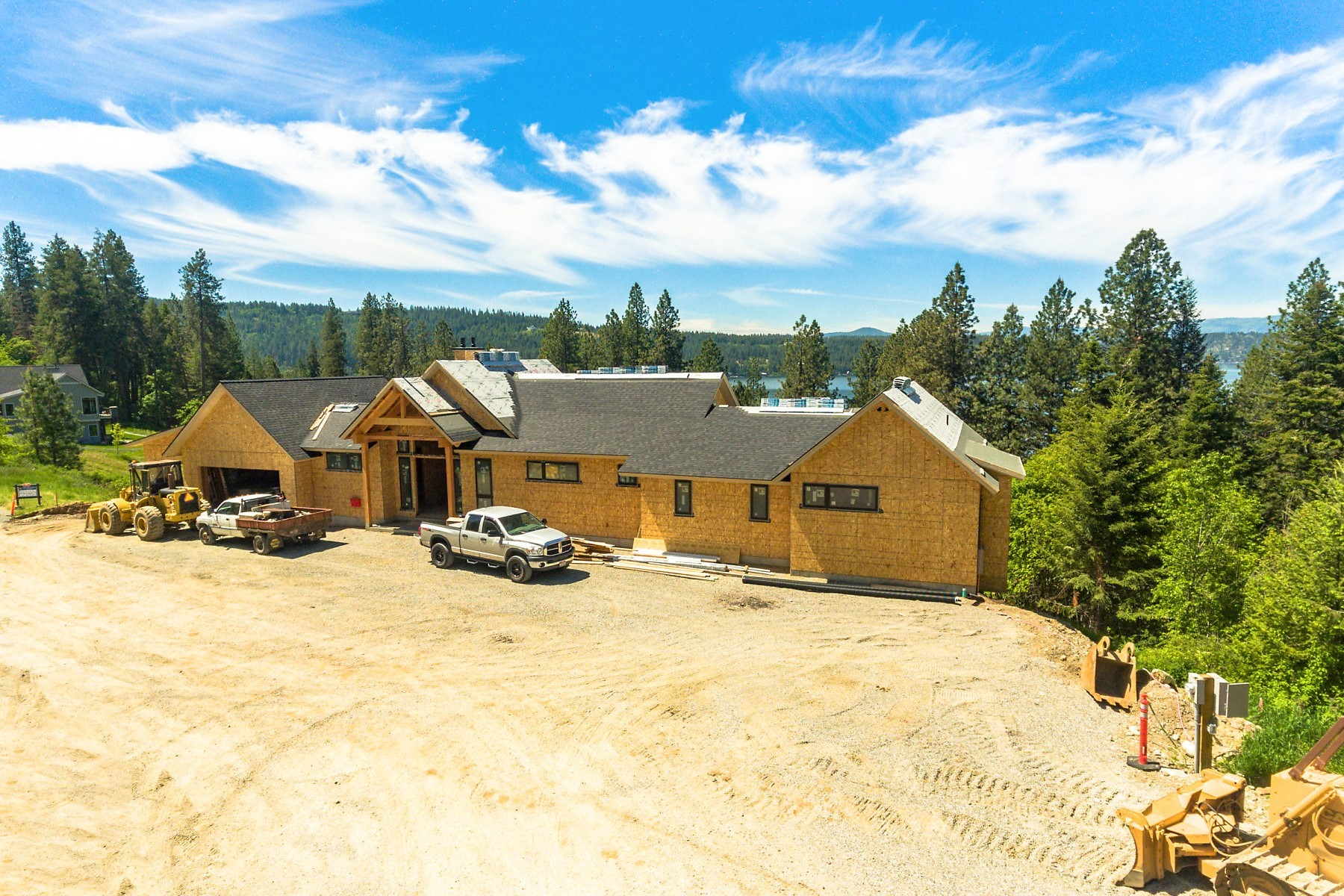Single Family Homes for Sale at Boasting views over Bennett Bay 5572 E Yellowstone Trail Coeur D Alene, Idaho 83814 United States