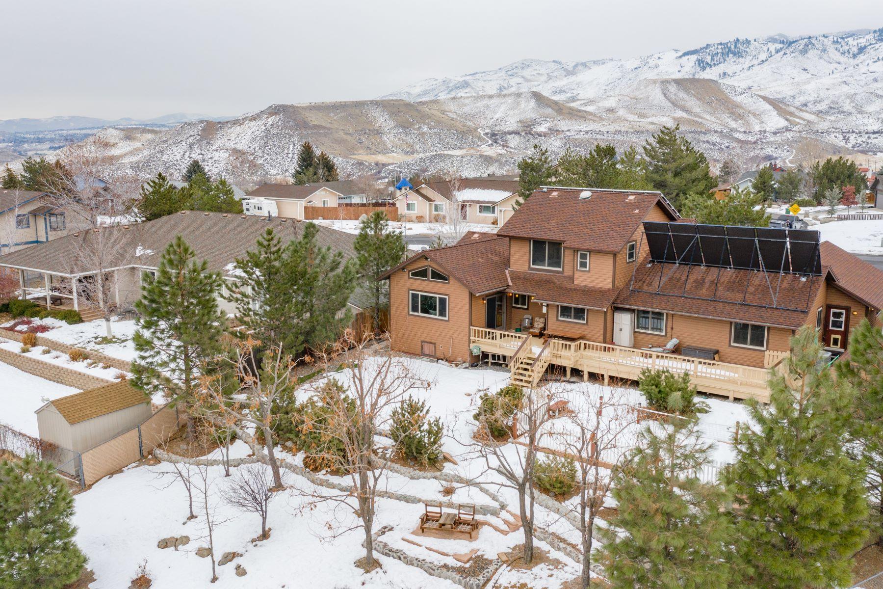 独户住宅 为 销售 在 295 Mogul Mountain Drive, Reno, Nevada 295 Mogul Mountain Drive 里诺, 内华达州 89523 美国