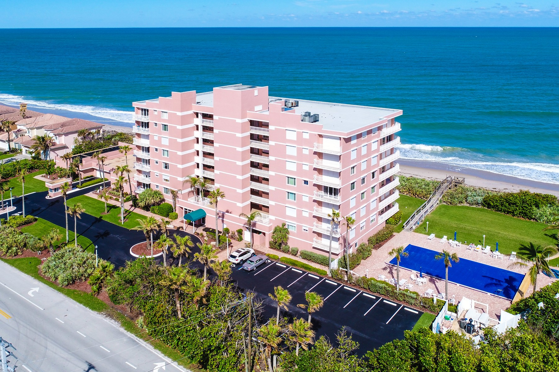Condominiums for Sale at South Shores Oceanside Condo 5635 S Highway A1A #803 Melbourne Beach, Florida 32951 United States