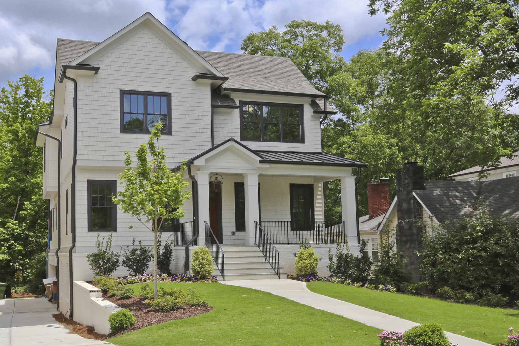 Single Family Home for Sale at New Construction in Buckhead 2901 Lookout Place NE Garden Hills, Atlanta, Georgia, 30305 United States