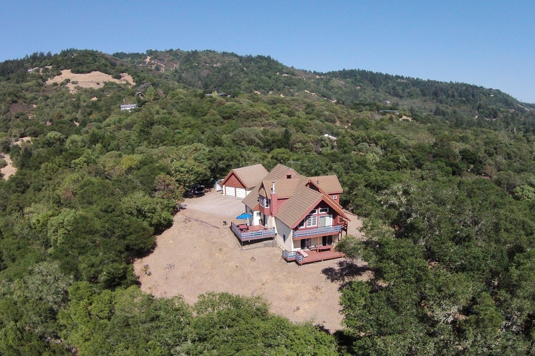 Single Family Home for Sale at 10+/- Acre Riebli Valley Country Property 5225 Winter Creek Road Santa Rosa, California, 95404 United States