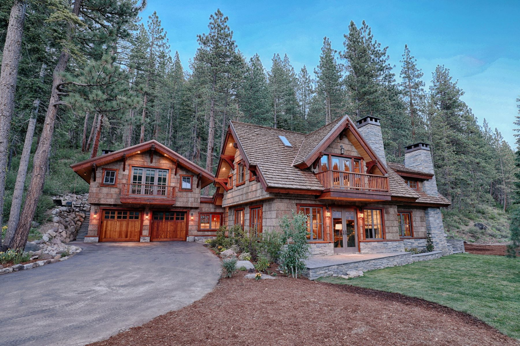Single Family Home for Active at Custom Built Truckee River Estate 7260 River Road Tahoe City, California 96145 United States