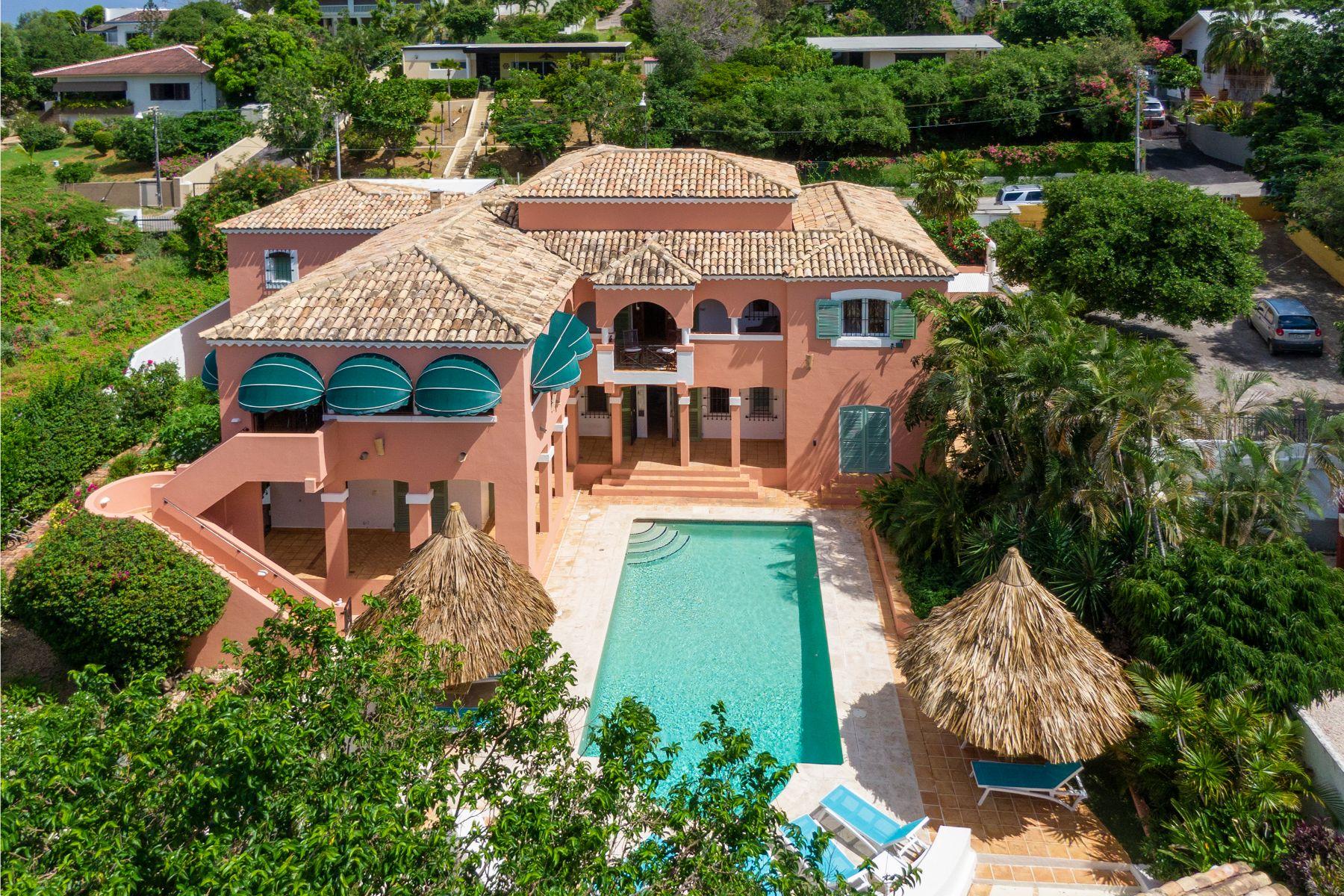 Single Family Homes por un Venta en Jan Thiel Hacienda Villa 25 Willemstad, Curacao
