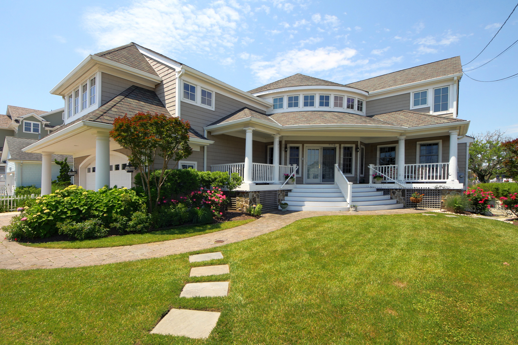 Single Family Home for Sale at Spectacular Custom Home With Open Bay Views 3651 Bayside Court Normandy Beach, New Jersey 08739 United States