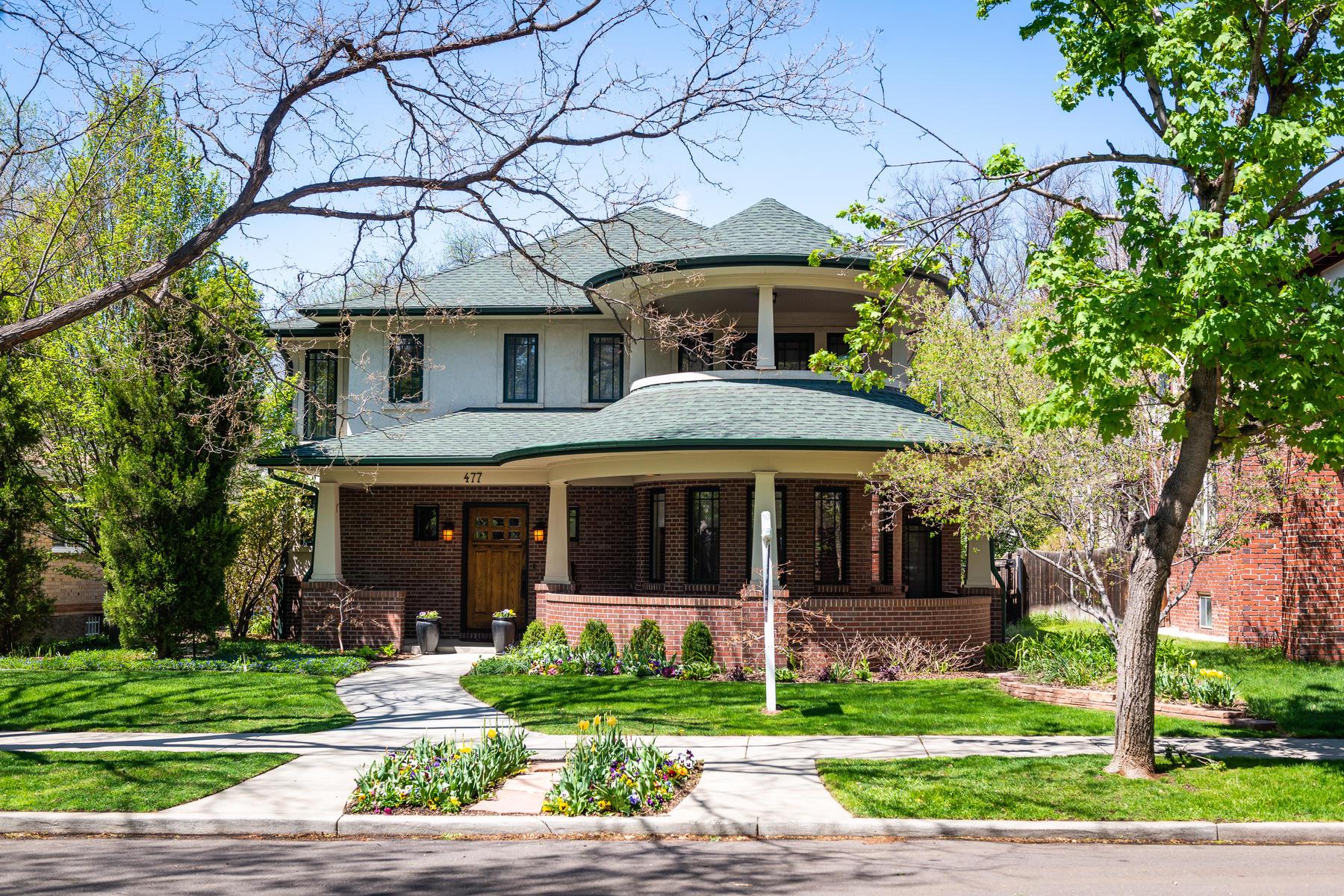 Property для того Продажа на Denver, Колорадо 80218 Соединенные Штаты