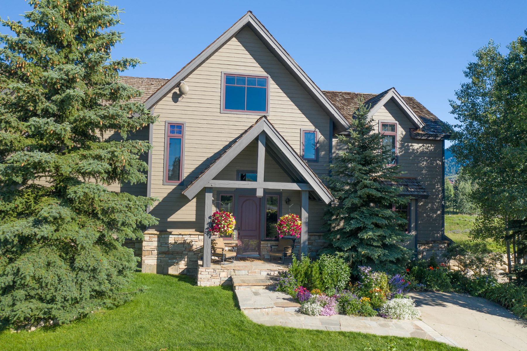 Single Family Homes for Sale at 269 Fairway Drive Crested Butte, Colorado 81224 United States