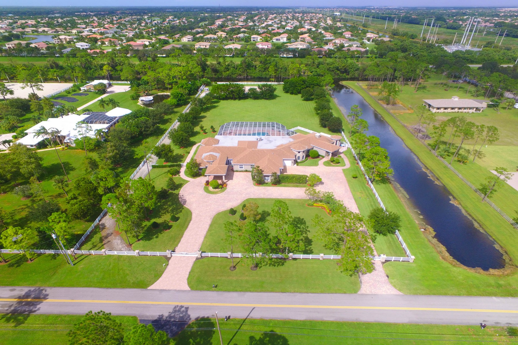 Single Family Home for Sale at 11225 Hawk Hollow 11225 Hawk Hollow Road Lake Worth, Florida 33449 United States