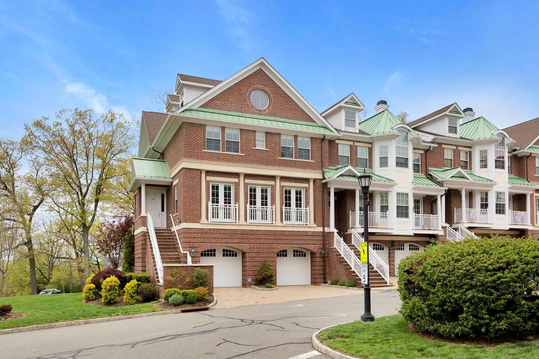 Townhouse for Sale at Luxury Townhouse 100 Heights Lane, Tenafly, New Jersey 07670 United States