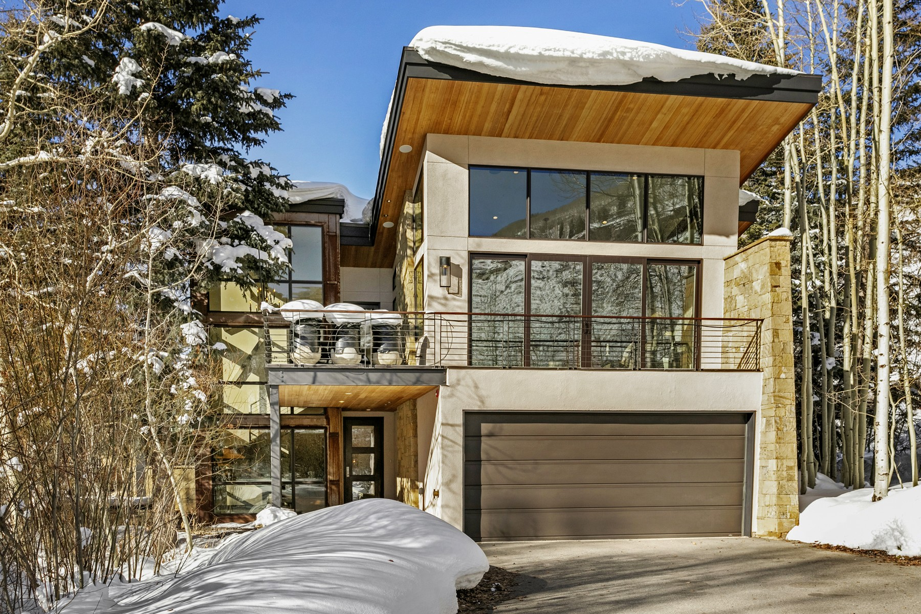 Duplex Homes for Sale at Mountain modern 5-bedroom home 2995 Booth Creek Drive Vail, Colorado 81657 United States