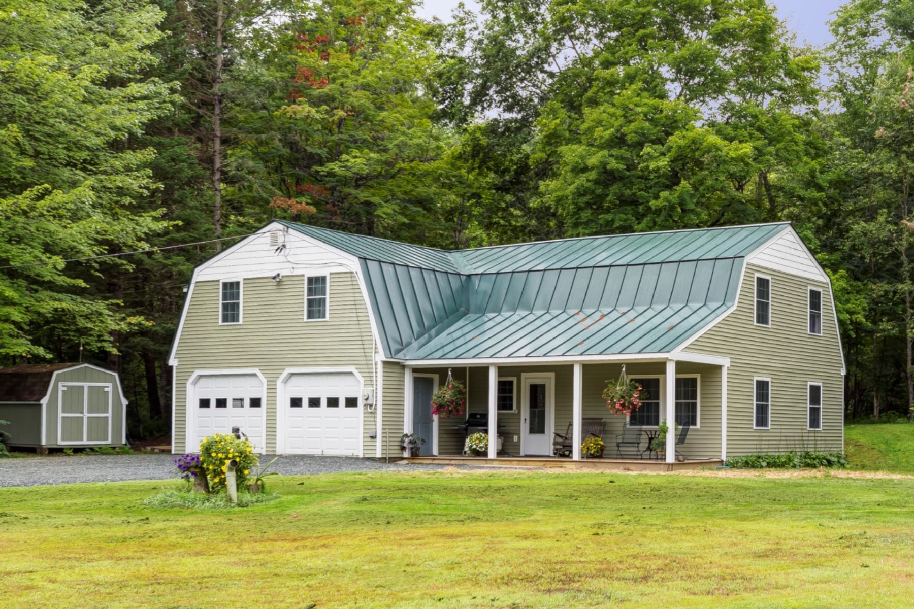 Single Family Homes for Sale at Three Bedroom Gambrel in West Fairlee 2638 Vt Route 244 Hwy West Fairlee, Vermont 05045 United States