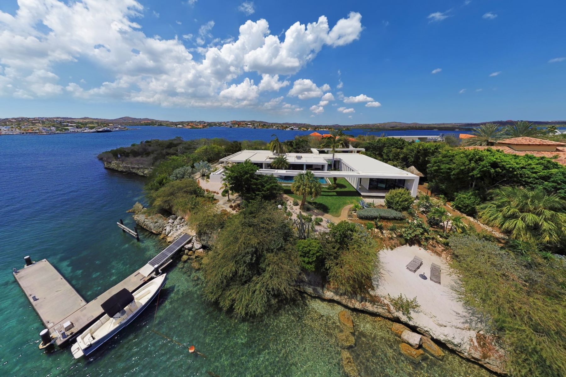 Single Family Home for Sale at Seru Boca Estate Contemporary Beachfront Villa 45 Willemstad, Curacao