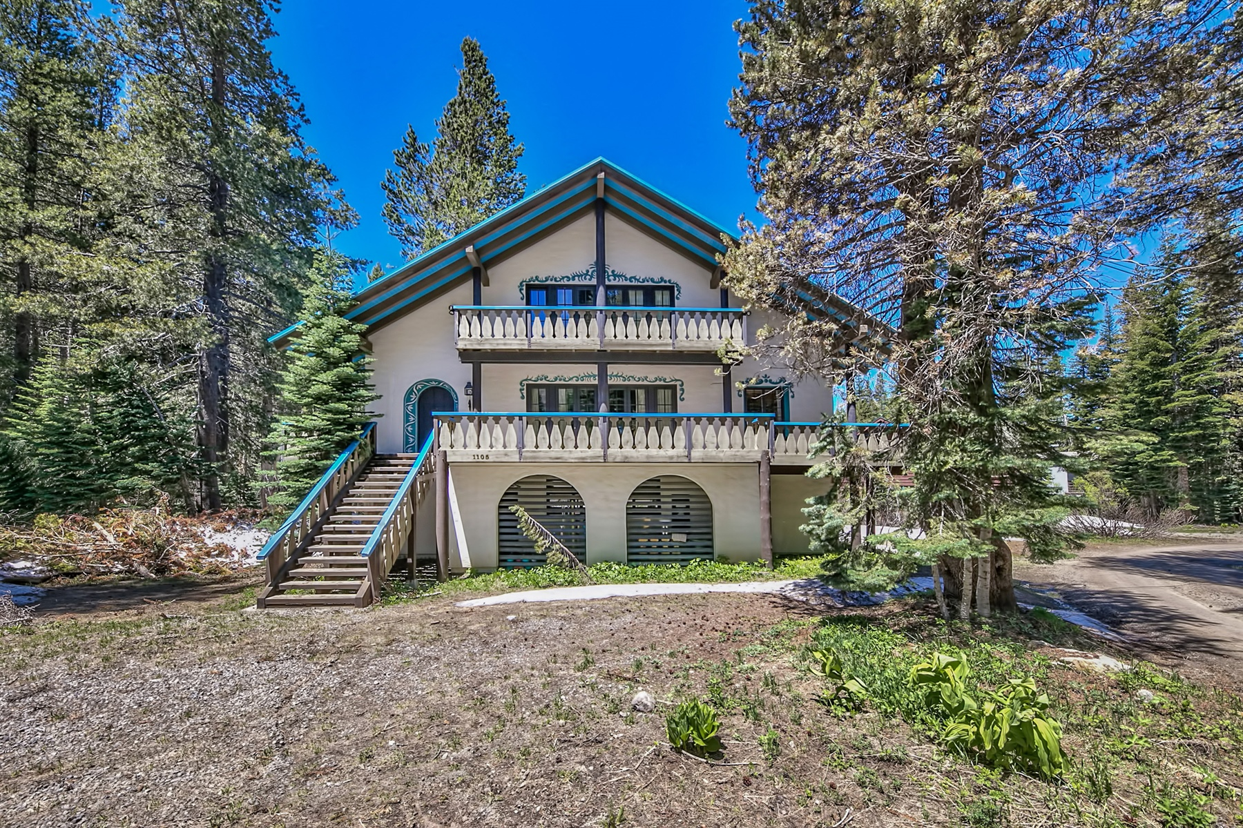 Single Family Home for Sale at 1105 Mule Ears Drive, Norden, CA Sugar Bowl, Norden, California, 95724 Lake Tahoe, United States