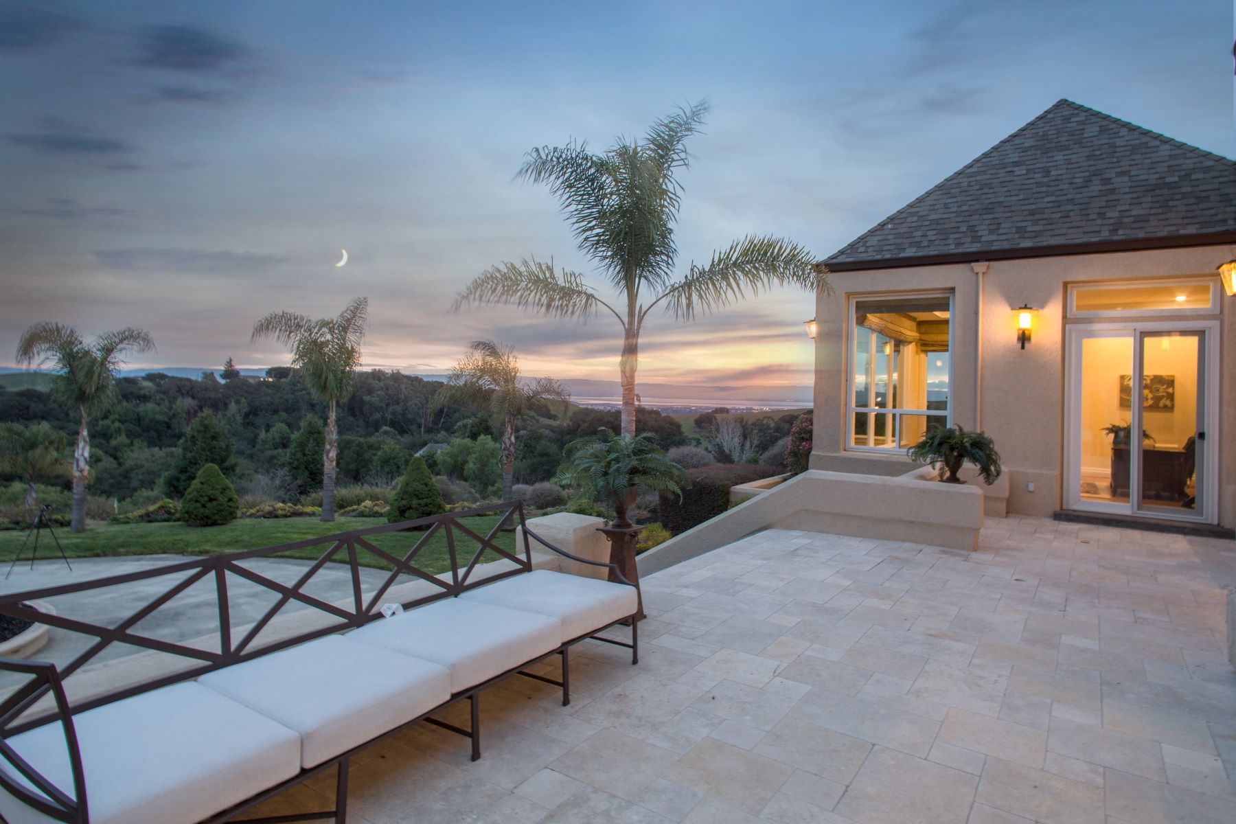 Additional photo for property listing at Stunning Custom Mediterranean with Bay Views on 5 Acres! 41280 Vargas Road Fremont, California 94539 United States