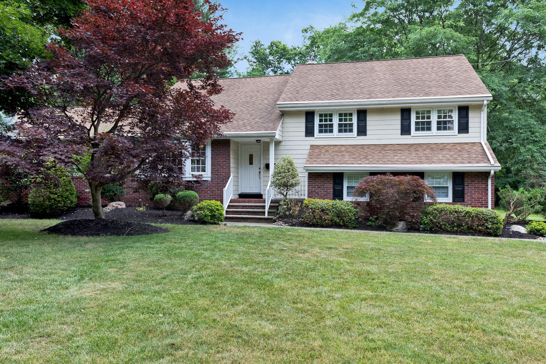 Single Family Homes for Active at Updated Split Level Home 1952 Inverness Drive Scotch Plains, New Jersey 07076 United States