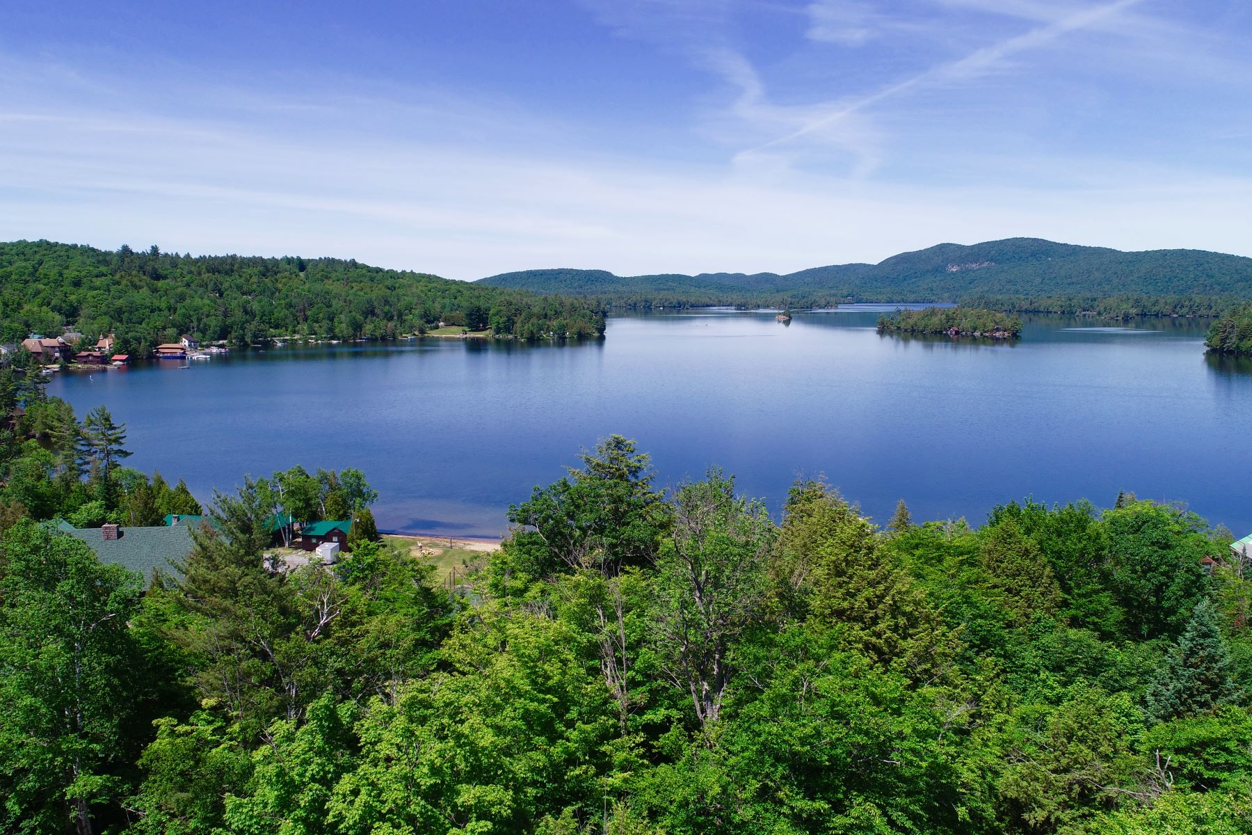 Land for Active at Blue Mountain Lake Building Lot 132 Cedar Ln Blue Mountain Lake, New York 12812 United States