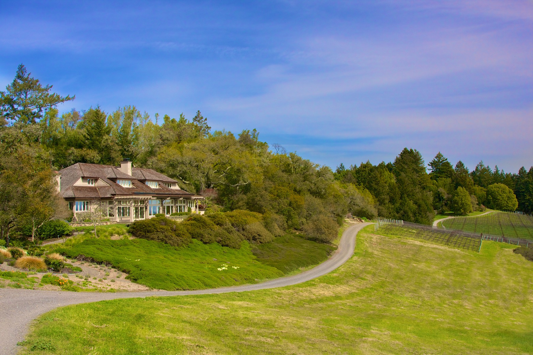 Maison unifamiliale pour l Vente à Platt Estate 15500 Bodega Highway Occidental, Californie, 95465 États-Unis