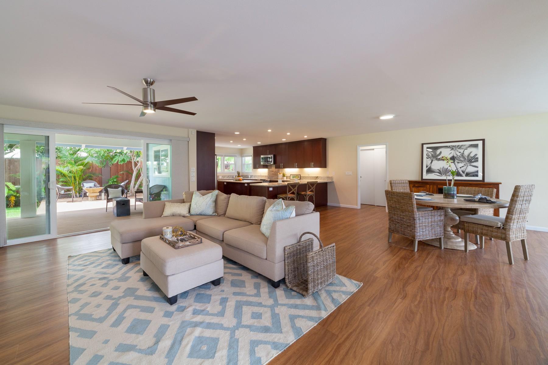 Single Family Homes για την Πώληση στο Beachside Kailua 55 Mahiloa Pl, Kailua, Χαβαη 96734 Ηνωμένες Πολιτείες