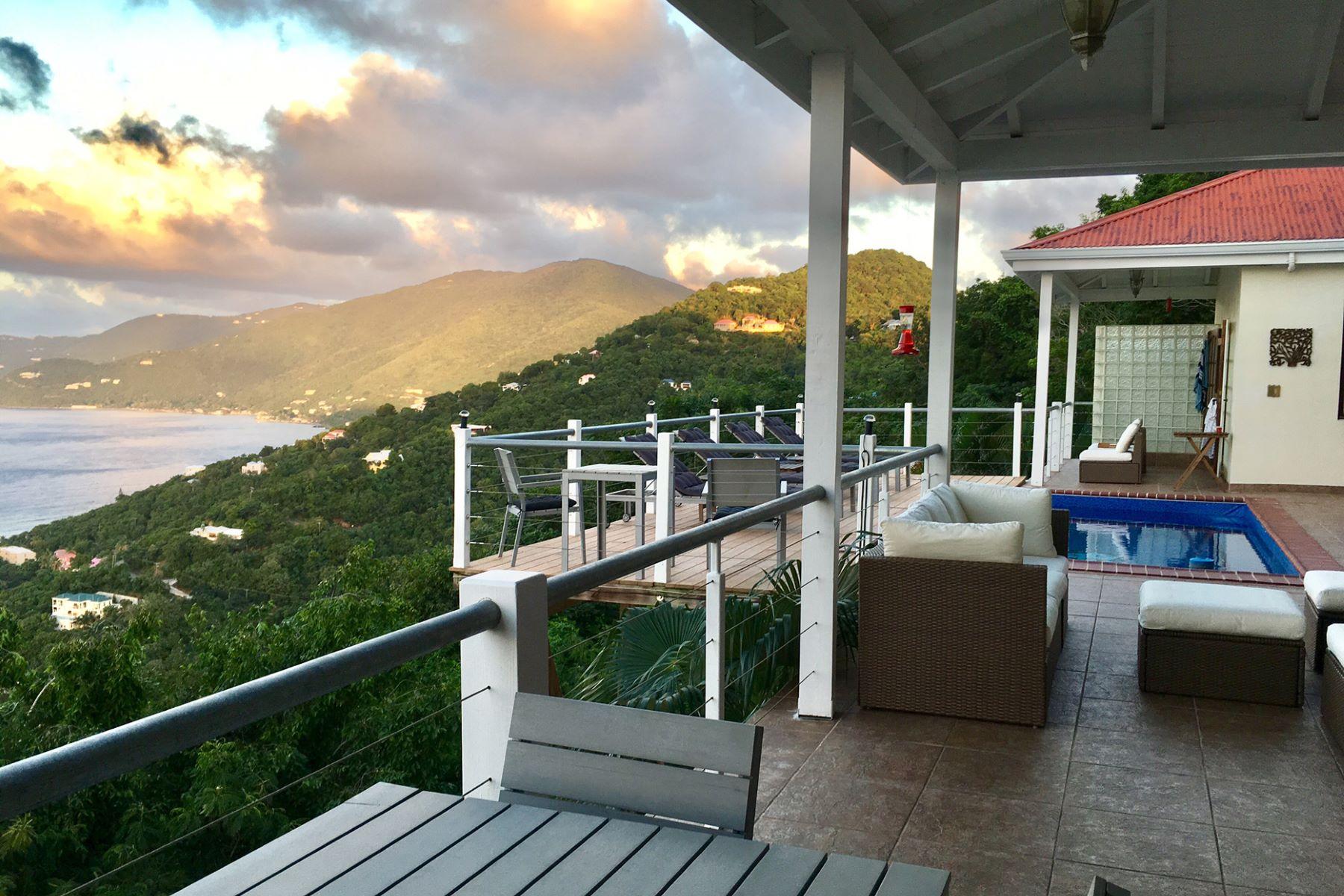 Частный односемейный дом для того Продажа на Villa Del Mar Belmont, Тортола Британские Виргинские Острова