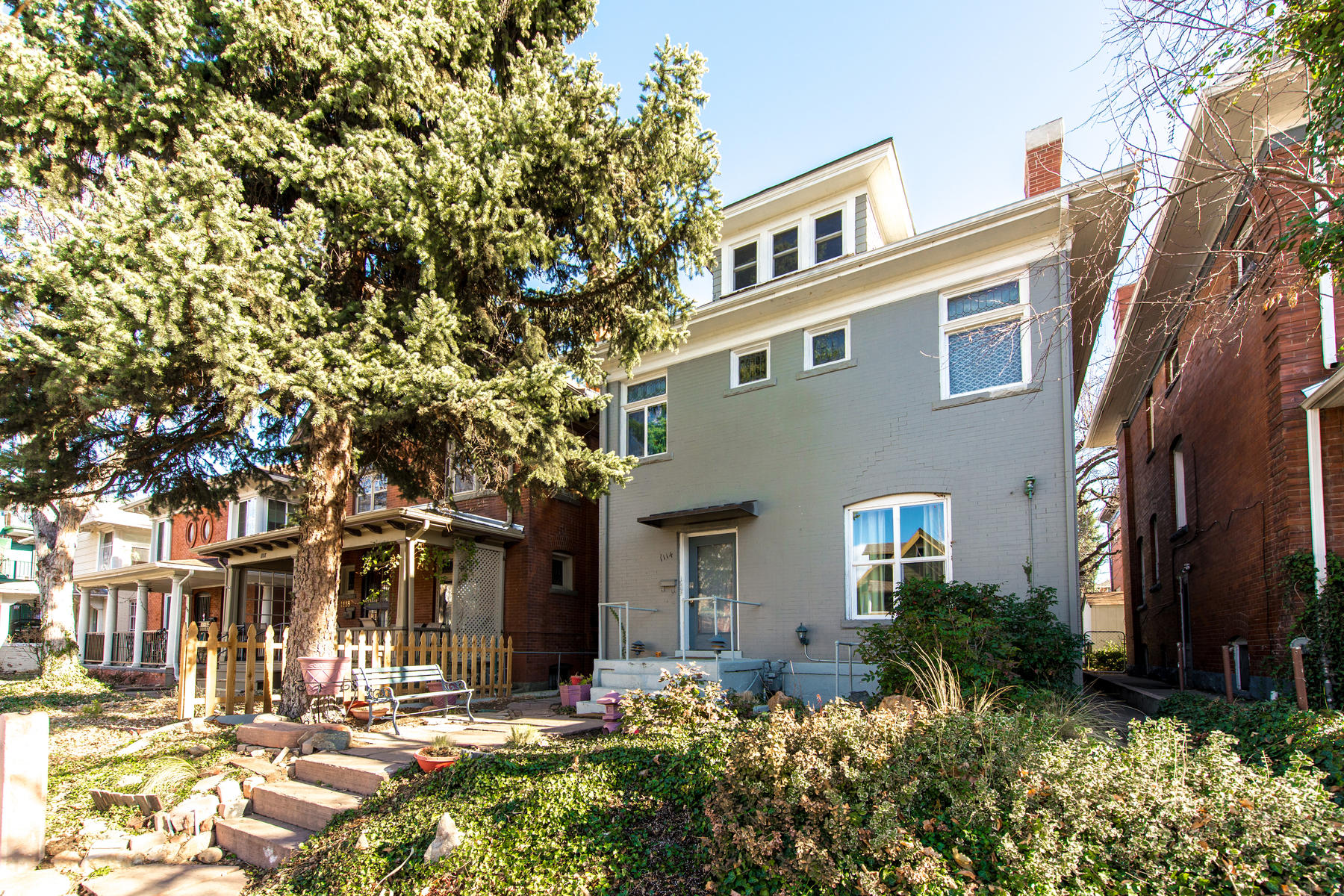 Multi-Family Home for Active at Great opportunity. Rent all 5 units or live in one and let the tenants pay your 1114 Downing Street Denver, Colorado 80218 United States