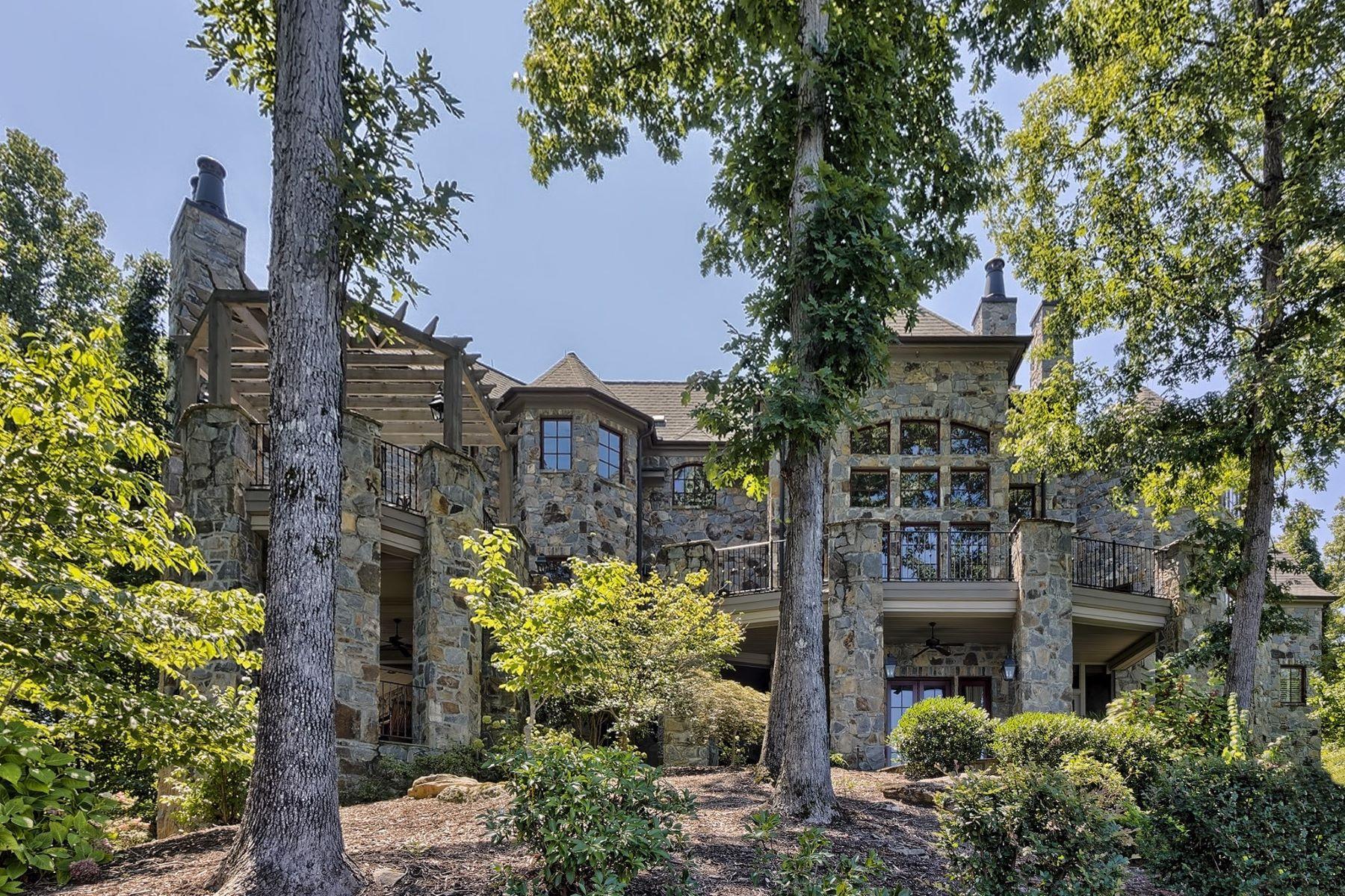 Single Family Home for Sale at Impressive & Tasteful Lakefront Home 235 Jasmine Point The Cliffs At Keowee Falls, Salem, South Carolina, 29676 United States