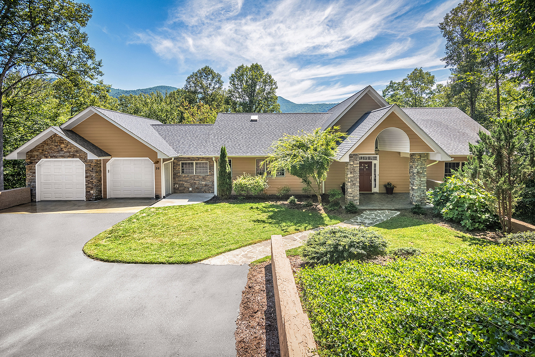 Single Family Homes for Active at OXBOW CROSSING 56 Oxbow Xing Weaverville, North Carolina 28787 United States