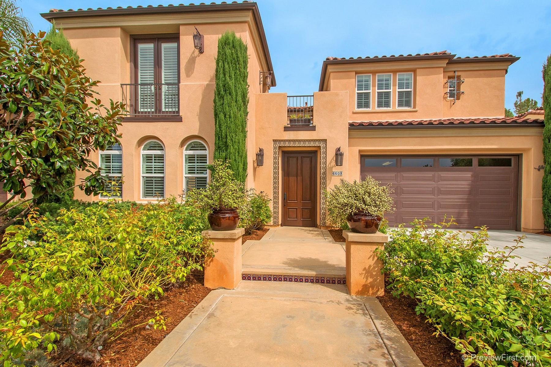 واحد منزل الأسرة للـ Sale في 6608 Halite 6608 Halite Place, La Costa Greens, Carlsbad, California, 92009 United States