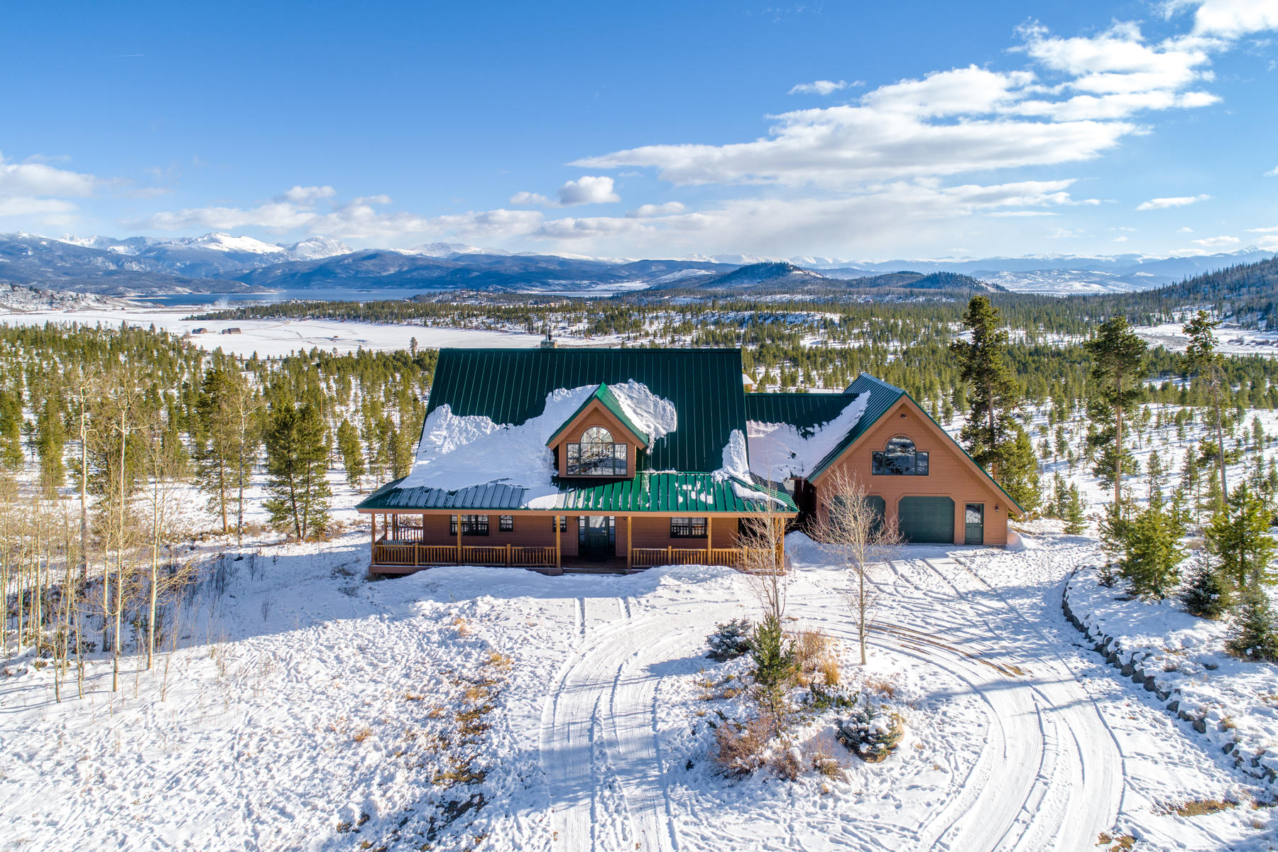 Single Family Home for Active at Rare opportunity to own a beautiful home on 37 acres in coveted Old Joslin Ranch 517 County Road 425 Granby, Colorado 80446 United States