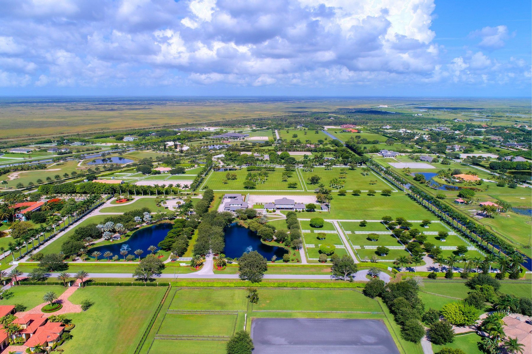 Casa Unifamiliar por un Venta en Owls Roost Farms 4481 Garden Point Trail, Palm Beach Point, Wellington, Florida, 33414 Estados Unidos